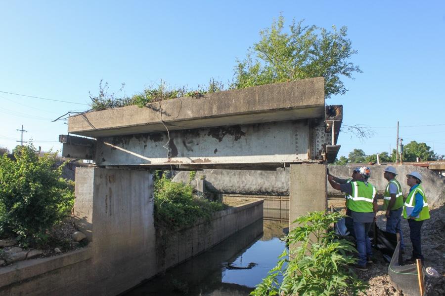 Lead-Asbestos Containing-Material Abatement-on Bridge