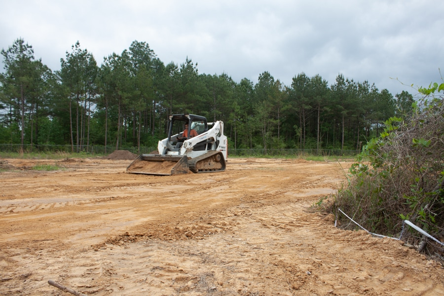 Levelling Site for Future Remediation